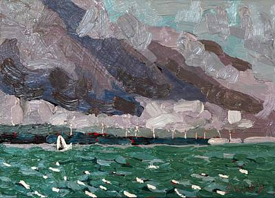 Tom Thomson Painting - Wolfe Winds by Phil Chadwick