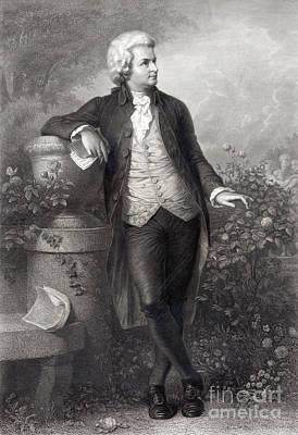 Amadeus Photograph - Wolfgang Amadeus Mozart, Austrian by Science Source