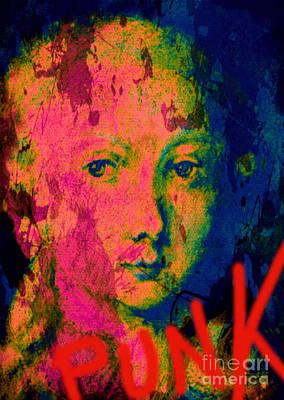 Andywarhol Painting - Wolfgang Amadeus Mozart Pop Art Pur by Felix Von Altersheim