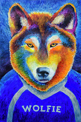 Photograph - Wolfie by Rick Mosher