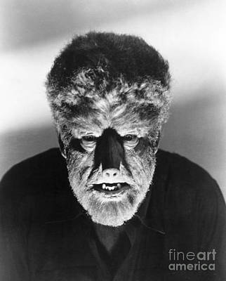 Wolfman Photograph - Wolfman, 1941 by Granger