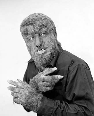 Photograph - Wolfman, 1945 by Granger