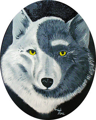 Painting - Wolfs Perspective by Joseph Palotas