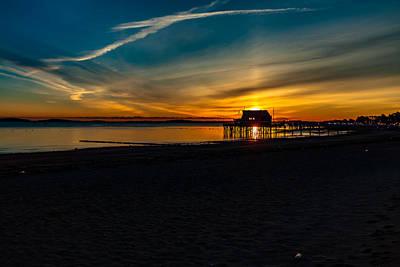 Wollaston Beach Sunrise 3 Art Print