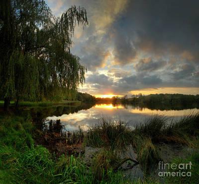 Photograph - Wollaton Lake by Yhun Suarez