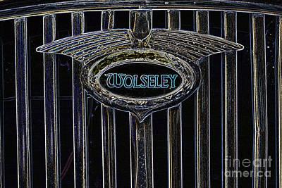 Digital Art - Wolseley 2 by Wendy Wilton