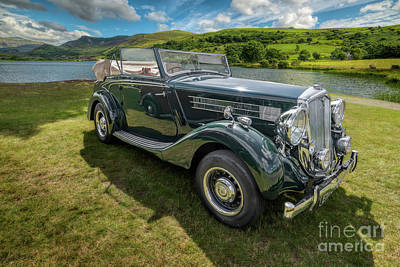 Print featuring the photograph Wolseley Classic Car by Adrian Evans