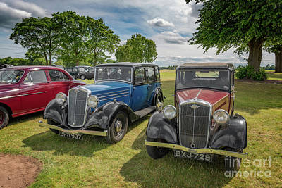 Hornets Photograph - Wolseley Motors by Adrian Evans