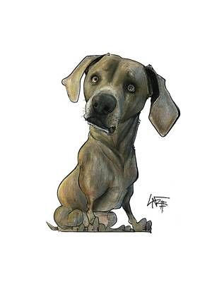 Thomas Kinkade - Womack 3291 Cooper by Canine Caricatures Custom Merchandise
