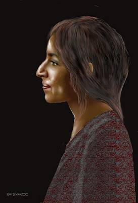 Digital Art - Woman 20 by Kerry Beverly
