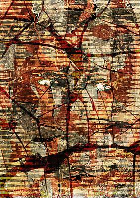 Digital Art - Woman Deep In Meditation by Haruo Obana