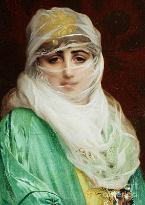 Woman From Constantinople Art Print by Jean Leon Gerome