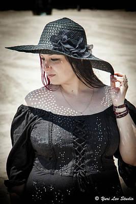 Anne Geddes Collection - A Woman in Black, Brighton Beach, New York, NY by Yuri Lev