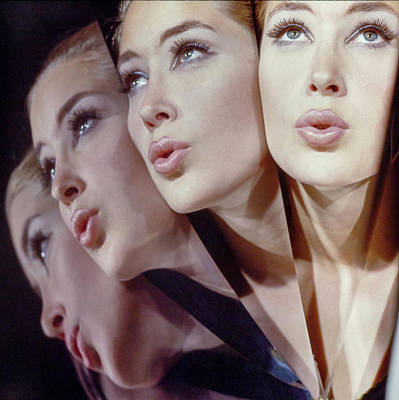 Photograph - Woman In Four Views by John Rawlings