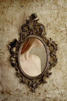 Photograph - Woman In Mirror by Clayton Bastiani