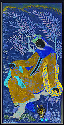 Painting - Woman In Tree by Celestial Images