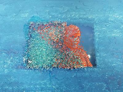 Atom Mixed Media - Woman Matter  by Joy Artistry