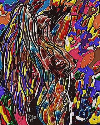 Woman Of Color Art Print by Laura Fatta