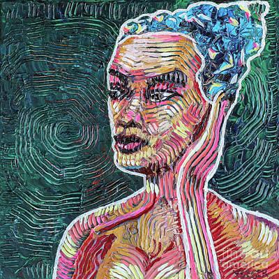 Woman Of Contours Original by Robert Yaeger