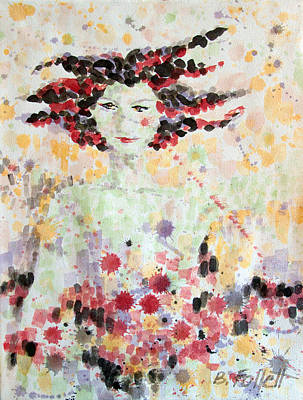 Painting - Woman Of Glory by Bonnie Follett