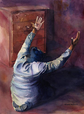 Prayer Painting - Woman Of Praise by Lewis Bowman
