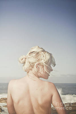 Feminine Photograph - Woman Relaxing On The Beach by Jorgo Photography - Wall Art Gallery