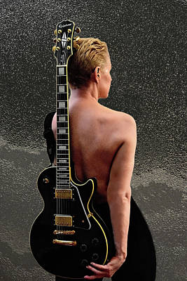 Photograph - Woman Rock An Roll Star by Renee Anderson