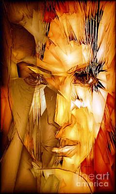 Digital Art - Woman Thru Life by Rafael Salazar