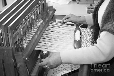 Azoren Photograph - Woman Weaving by Gaspar Avila