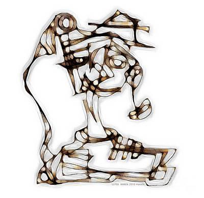 Digital Art - Women 3976 by Marek Lutek