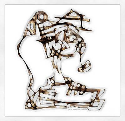 Digital Art - Women 3978 by Marek Lutek