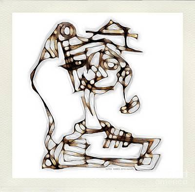 Digital Art - Women 3979 by Marek Lutek