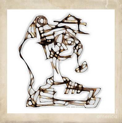 Digital Art - Women 3980 by Marek Lutek