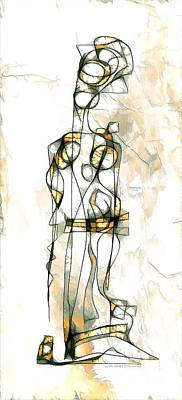 Digital Art - Women 3981 by Marek Lutek