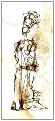 Digital Art - Women 3982 by Marek Lutek