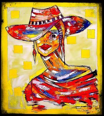 Digital Art - Women 4154 by Marek Lutek
