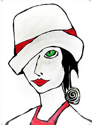 Digital Art - Women 4222 by Marek Lutek