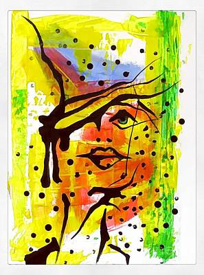 Digital Art - Women 4225 by Marek Lutek