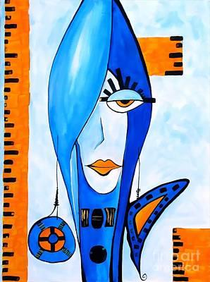 Digital Art - Women 4257 by Marek Lutek