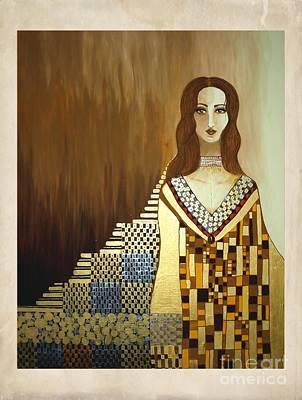 Digital Art - Women 4268 by Marek Lutek