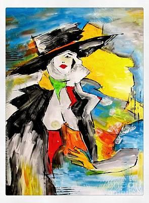 Painting - Women 4283 by Marek Lutek