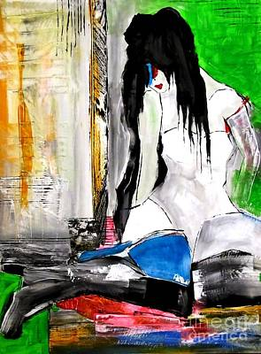 Painting - Women 4284 by Marek Lutek