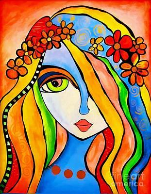 Painting - Women 4296 by Marek Lutek