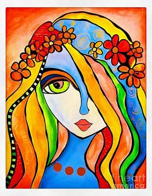 Painting - Women 4298 by Marek Lutek