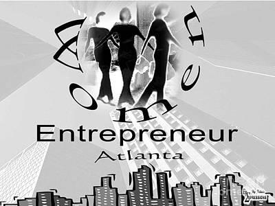 Drawing - Women Entrepreneurs by Belinda Threeths