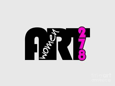 Women In Art 278 Magazine Art Print