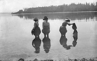 Photograph - Women In The Water by Unknown