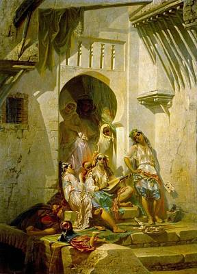 Giraud Painting - Women Of Algeria by MotionAge Designs