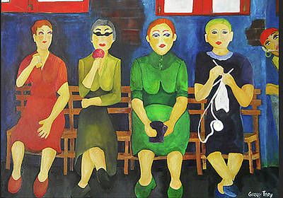 Painting - Women Of Budapest by Gabby Tary