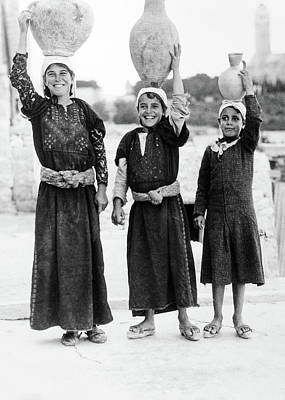 Photograph - Women Of Mount Olives by Munir Alawi